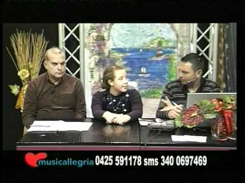 FASHION ONE in TV (2/a parte)a Musicallegria con il Cantatour in live ospite Sara Chiavegato14/11/11