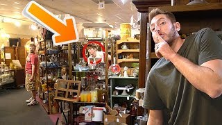 HIDE N SEEK IN AN ANTIQUE STORE!