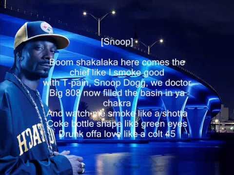 Snoop Dogg feat TPain  Boom Lyrics HQ