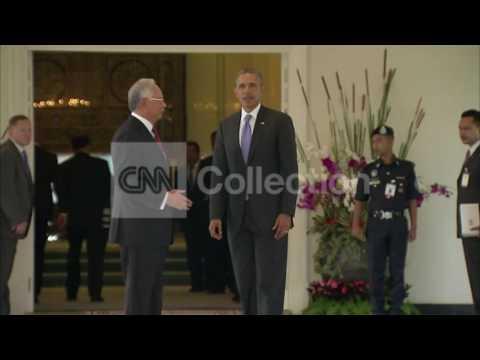 MALAYSIA:OBAMA AND PM NAJIB RAZAK PHOTO OP