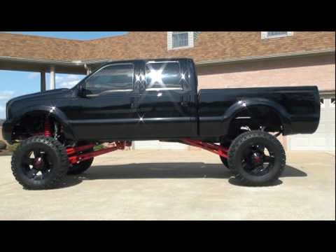 2006 FORD F-350 LARIAT CUSTOM LIFTED FOR SALE SEE WWW.SUNSETMILAN.COM.MPG Video