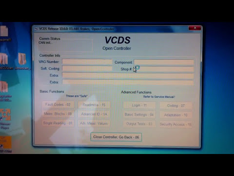 VCDS 10.6 Test