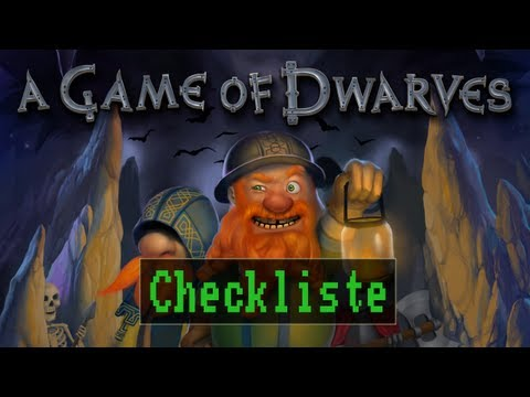 Checkliste: A Game of Dwarves - [Gameplay / Deutsch / Full HD]
