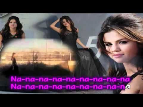 Selena Gomez   The Scene   Who Says Karaoke Instrumental With Backing Vocals + Download