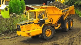 RC MODEL TRUCK & CONSTRUCTION SITE ACTION!! *RC DOZER, RC EXCAVATOR, RC TRACTOR