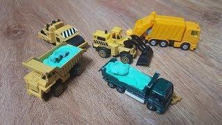 Trò chơi xe ô tô tải chở đất xúc cát – Kids Bon