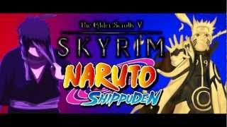 Skyrim Naruto Anime Overhaul Mod Review