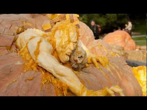 Ray Villafane s 2011 Pumpkin Sculpture at NYBG