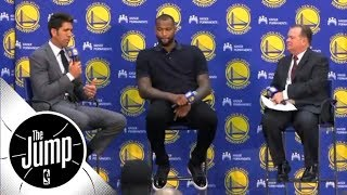 How big is the gap between Golden State Warriors and rest of the NBA? | The Jump | ESPN
