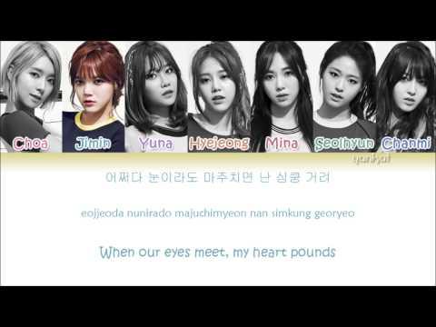 AOA - Heart Attack  (심쿵해) (Color Coded Han|Rom|Eng Lyrics)