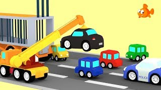 🔵🔴 POLICE CAR CHASE! 🔴🔵 Cartoon Cars - Cartoon Animation Cartoons for children