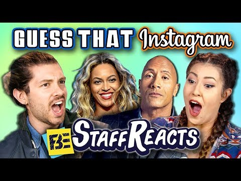 GUESS THAT INSTAGRAM CHALLENGE (ft. FBE Staff)