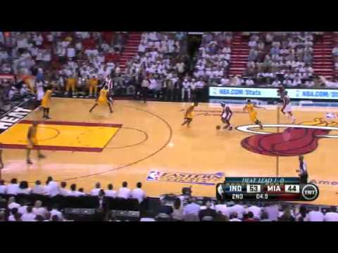 NBA Indiana Pacers Vs Miami Heat - Game 2 | 24th May 2013 | Eastern Conference Finals 2013