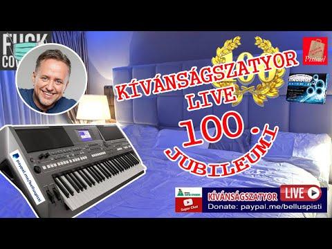KÍVÁNSÁGSZATYOR LIVE 100.