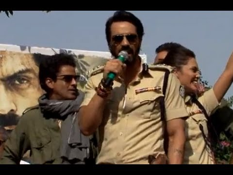 The Chakravyuh Cast In Delhi - Day 1