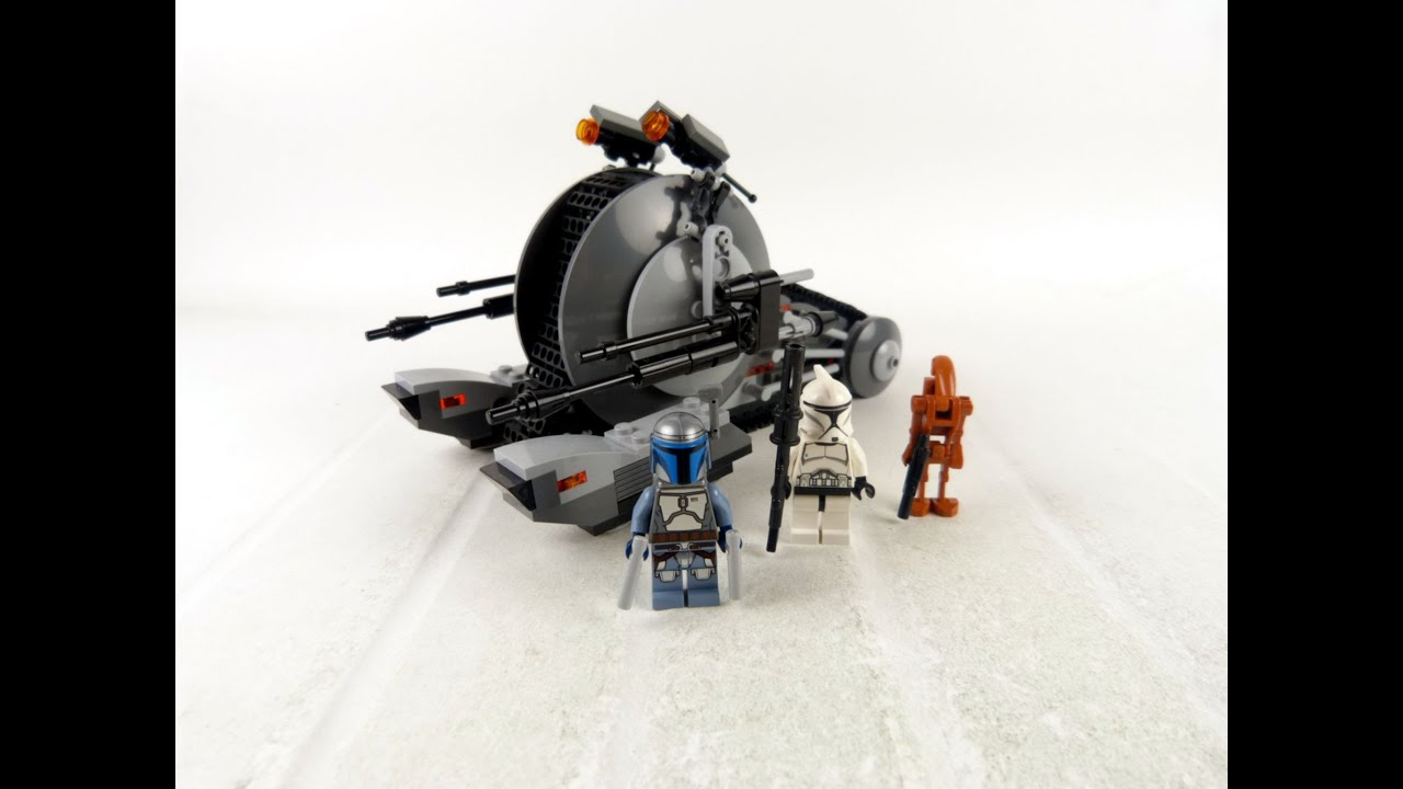 Lego star wars corporate alliance tank droid review - Lego star wars vaisseau droide ...