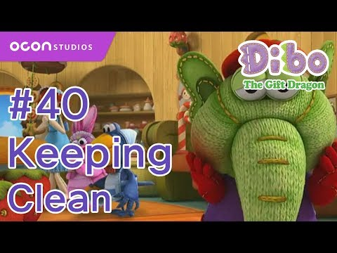 [ocon] Dibo The Gift Dragon  ep40 Keeping Clean( Eng Dub) video