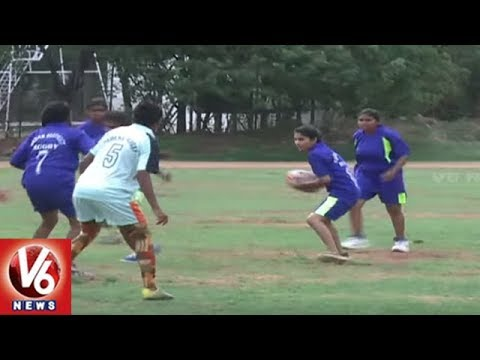 Inter-District Senior Rugby Tournament Begins on Grand Note At Gymkhana Ground | Hyderabad | V6 News