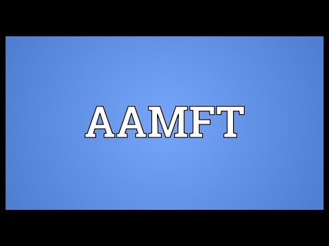 Header of aamft