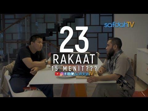Adab Harian Muslim Edisi Puasa Ramadhan 1493H: Teraweh 23 Rakaat Cuma 15 Menit?