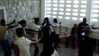 Ecofra Takes Karate Team To Perform At School In Jacmel Haiti