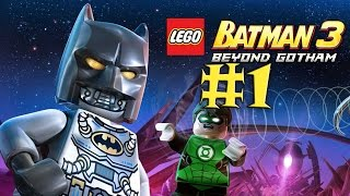 Lego batman walkthrough part 1 xbox 360