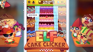 Elf Cake Clicker - Clicker Game with Cute Elves for iPhone and Android