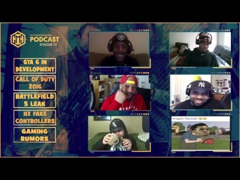 GMG SHOW LIVE EP. 111 - CALL OF DUTY 2016, GTA 6, BATTLEFIELD 5, FAKE NX CONTROLLER, AND MORE!