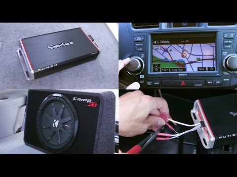 Can you hook up subwoofers stock car radio