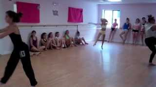"Brooke & Paige Hyland Performing A Contemporary Combo To ""Fireworks"" by Katy Perry 2012!"