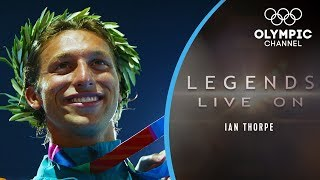 The Inner Battle Swimming Star Ian Thorpe Fights  Legends Live On