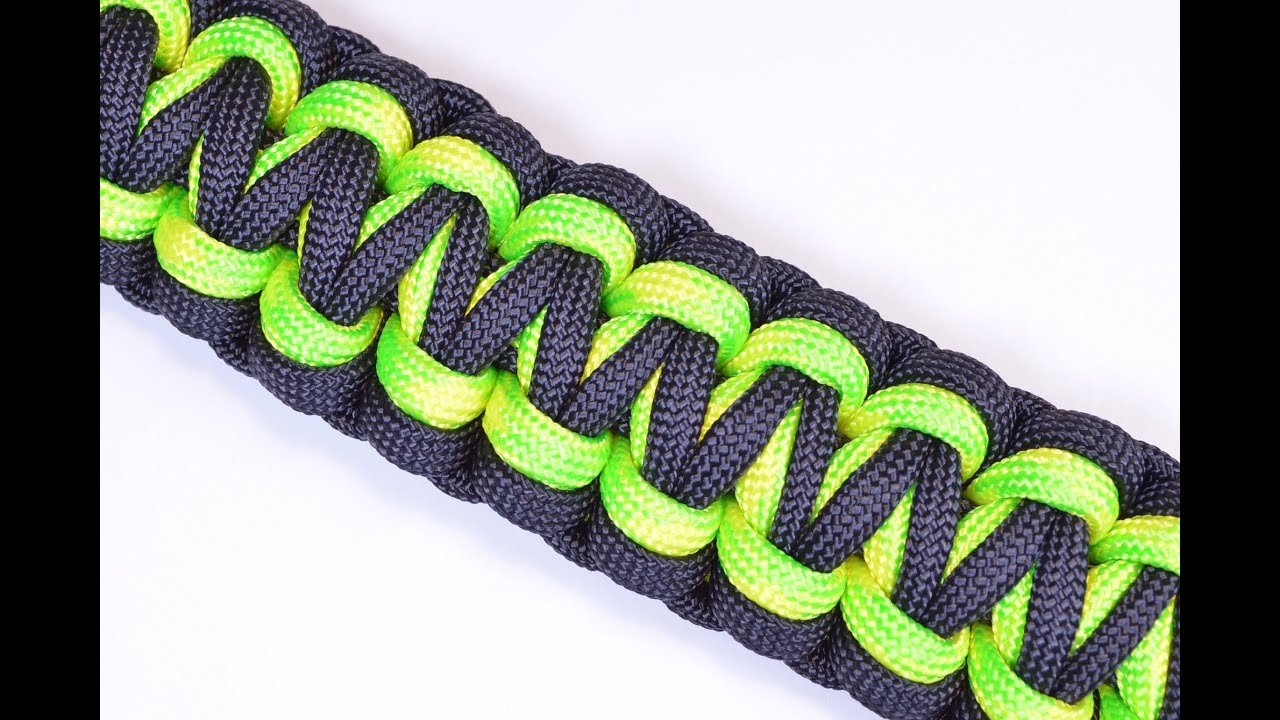 Make the quot gorilla knot quot paracord survival bracelet diy