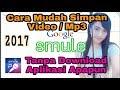 CARA SIMPAN VIDEOAUDIO SMULE Tanpa Download APLIKASI Apapun Dgn MUDAH & CEPAT