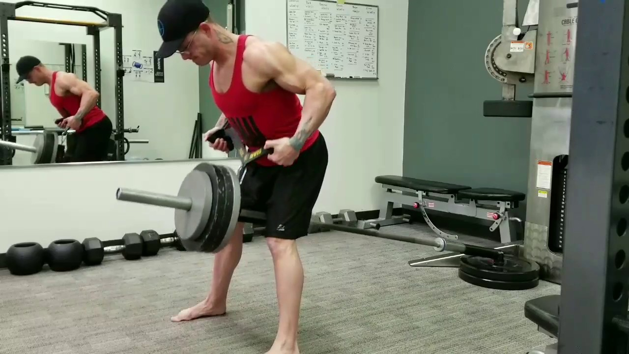 Get more from. the bent over row