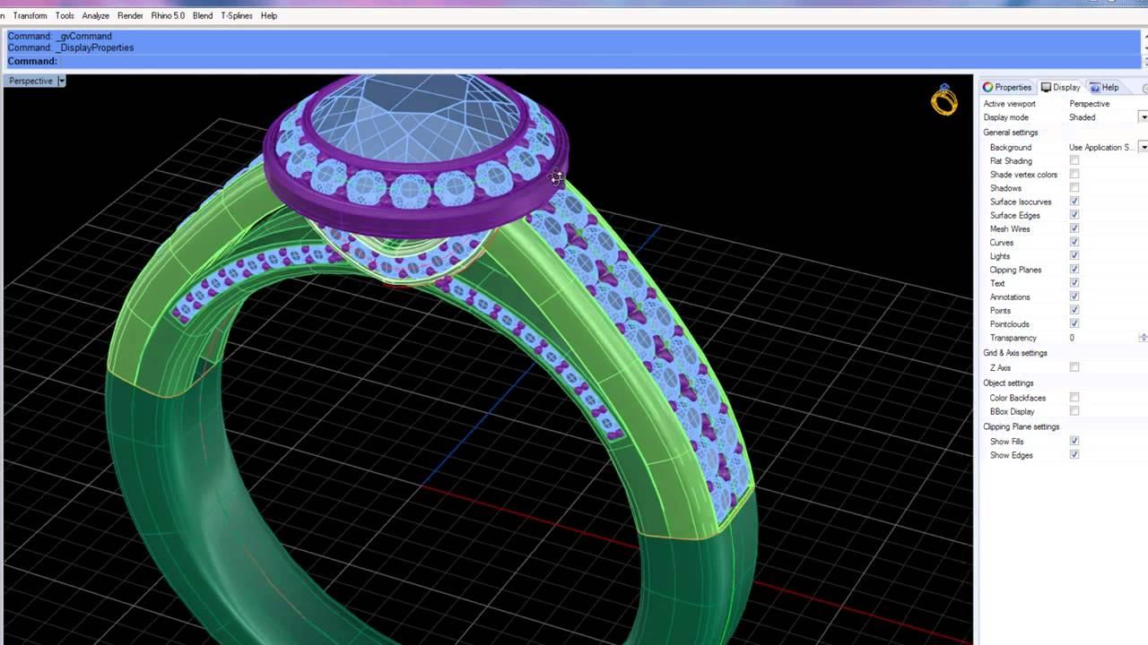 Matrix 3d Jewelry Design Software 7