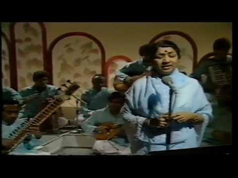 BBC LIVE Lata Mangeshkar Lag Ja Galay