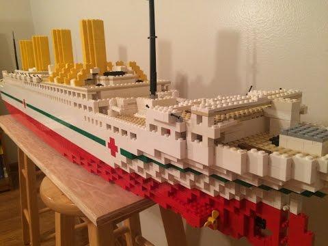 Lego HMHS Britannic Model【5 foot model】