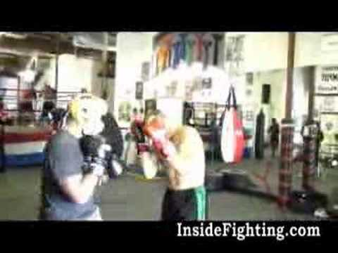 Randy Couture vs Quinton Rampage Jackson (Sparring) Video