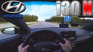 PERFECT! 2018 Hyundai i30 N Performance (0-250 km/h) POV- TOP SPEED, Acceleration TEST✔