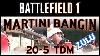 "Battlefield 1 "" MARTINI BANGIN "" ZULU WEAPON SKIN 20-5 TDM"