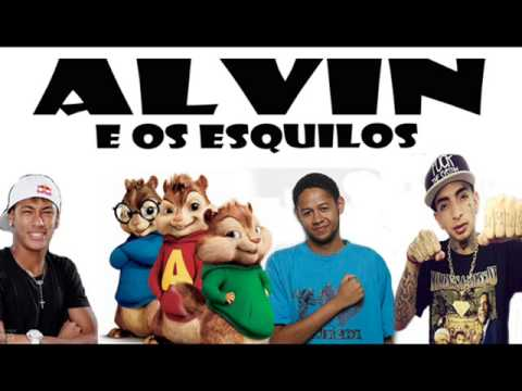 Alvin e os Esquilos - País do Futebol (Mc Guime Part. Emicida)