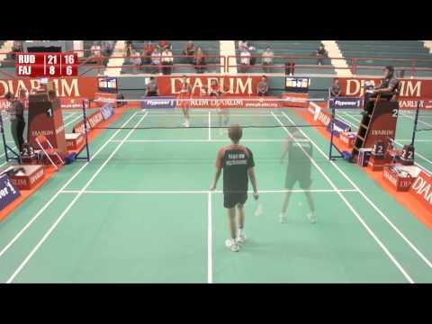 Rudi Cahyadi B (PB Djarum) VS M Fajar Wikajaya (Pelita Bakrie)