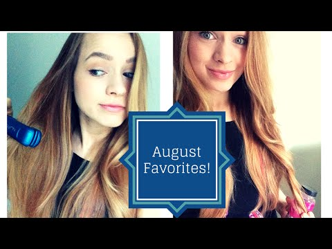 August Favorites - Growing my hair, best hot tools, and skin care!