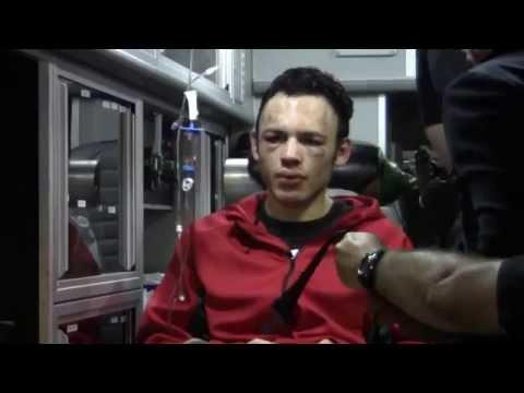 Julio Cesar Chavez Jr LOADED INTO AMBULANCE! vs Andrzej Fonfara post fight