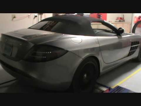 SLR Mclaren on the Dyno at RDP Motorsport