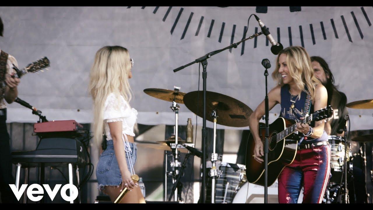 "Sheryl Crow - 「Newport Folk Festival」からMaren Morrisをフィーチャした""Prove You Wrong""のライブ映像を公開 thm Music info Clip"