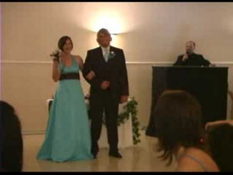 April &amp; Blake Estrada Wedding Party Introductions
