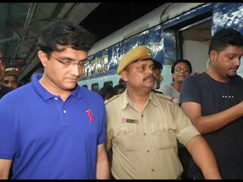 Sourav ganguly Train Journey\\ dada ki train yatra