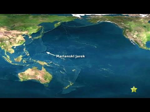 Formaciones extrañas en el océano Pacífico