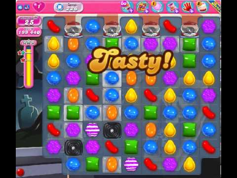 Candy Crush Saga Level 226 - 3 Star - no boosters